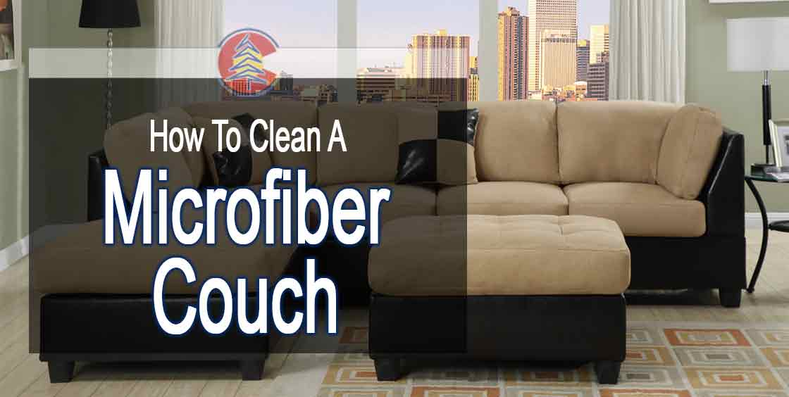 How To Clean A Microfiber Couch Blue Spruce Maids