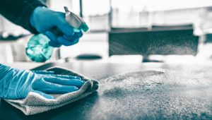 What is the difference between cleaning and disinfecting
