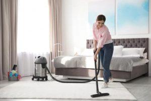 How do I deep clean my bedroom