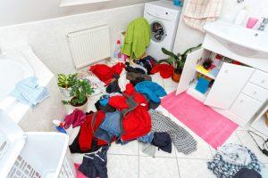 How do I deep clean my bathroom
